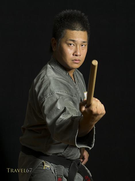 Kenta Kinjo-sensei, Uechi Ryu Karate and Ryukyu Kobudo